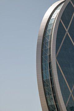 Kantoorgebouw in Abu Dhabi van STEVEN VAN DER GEEST