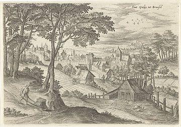 Hans Collaert (I), Gezicht op Sint-Gillis van Atelier Liesjes