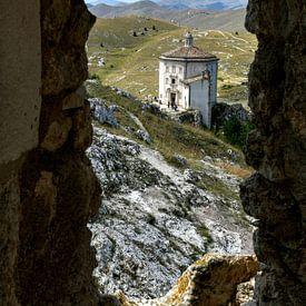 Rocca Calascio, Abruzzo -  Italië van Rob Severijnen