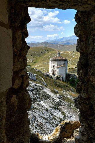Rocca Calascio, Abruzzo -  Italië
