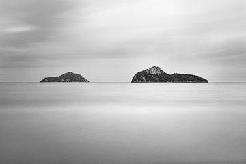 Zwei Inseln von Johan Zwarthoed