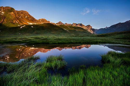 Alpen glow von Hans van den Beukel