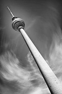 Dynamic-Art BERLIN TV Tower black&white