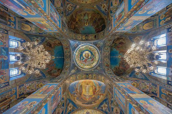 Church of the Savior on Blood van Erwin Blekkenhorst