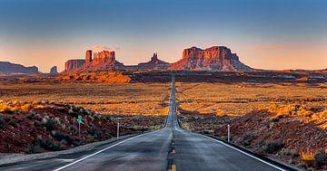 Monument Valley Sonnenaufgang von Adelheid Smitt
