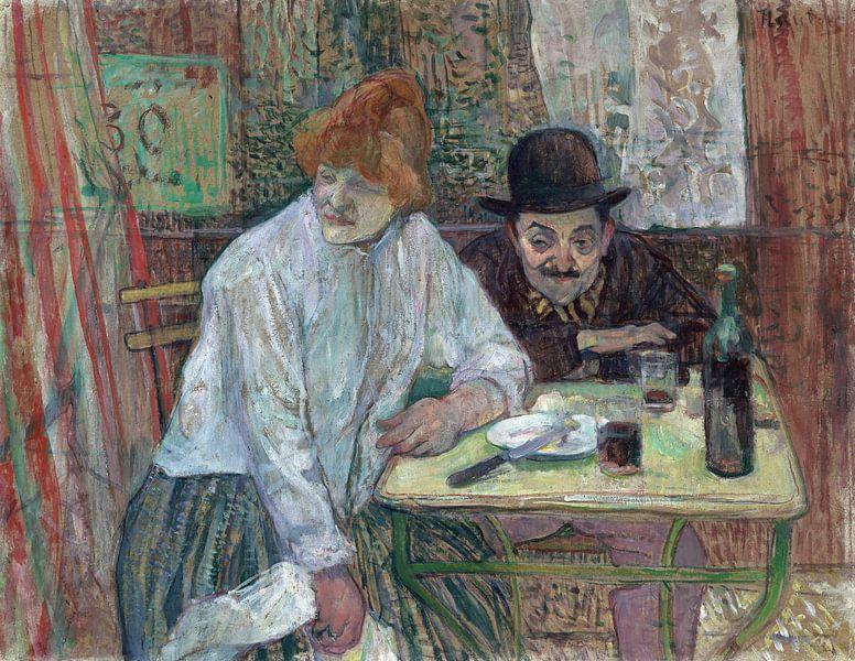 Im Café La Mie, Henri de Toulouse-Lautrec - 1891 von Het Archief