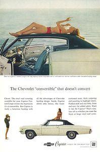 Chevrolet Caprice Werbung 60er Jahre