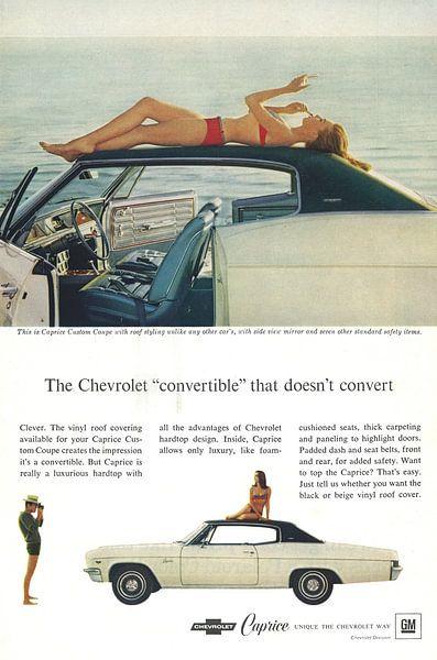 Chevrolet Caprice Werbung 60er Jahre von Jaap Ros