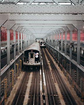 New York metro van Bas Glaap