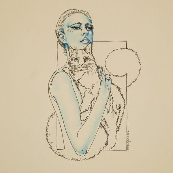 The Box - Catwoman van Helma van der Zwan