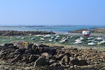 Bretagne, schepen in de haven van Bernard van Zwol