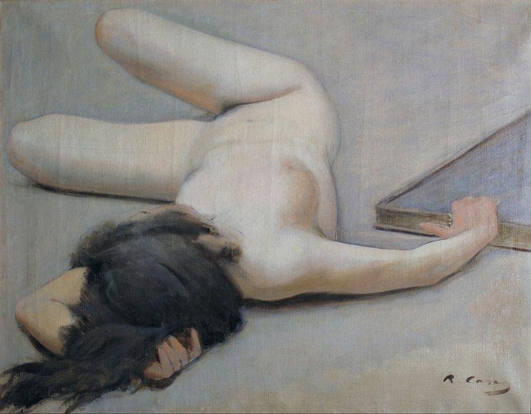 Female Nude, Ramon Casas von Meesterlijcke Meesters