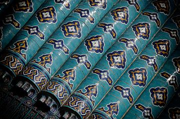 Mosquée de tuiles sur Ton Bijvank
