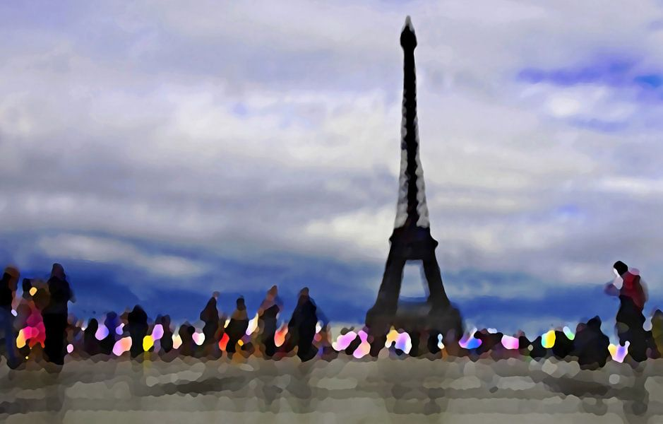 Paris Mon Amour, Trocadero