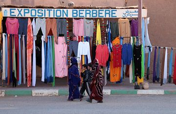 Wandelaars in Zuid Marokko