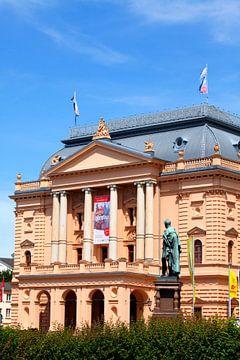 Mecklenburgisches Staatstheater Schwerin, Renaissance, Schwerin, Mecklenburg-Vorpommern, Deutschland