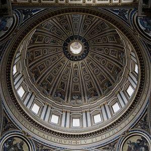 Rome kerk koepel van
