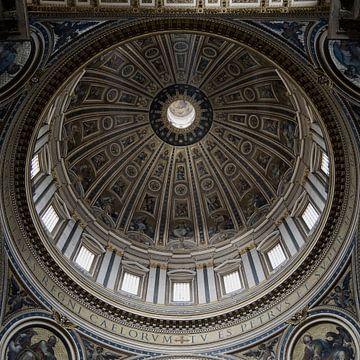 Rome kerk koepel van Danielle van Leeuwaarden