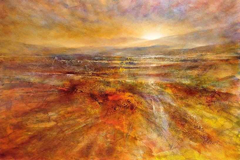 Der Tag erwacht - Sonnenaufgang von Annette Schmucker