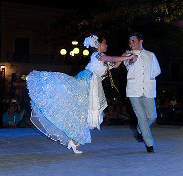 Mexico: Folklore danser (Campeche) van Maarten Verhees