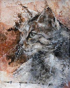 Katze von Peter van Loenhout