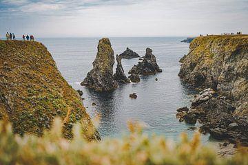 Die Klippen von Belle-Île-en-Mer, Bretagne, Frankreich von Daphne Groeneveld