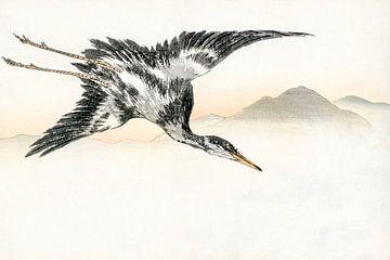 Japan Vogelvlucht bij zonsopgang van Mad Dog Art