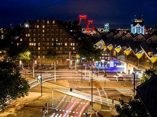 De iconen van Rotterdam van Mike Pennings