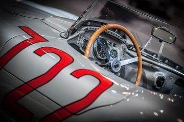 De cockpit van Stirling Moss I van Michiel Mulder