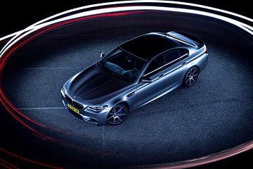 Mat grijs BMW M5 30 jahre editon sur Ansho Bijlmakers