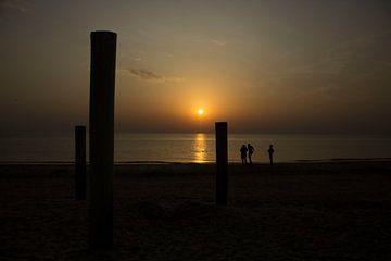 Sonnenuntergang von Ingrid Mooij
