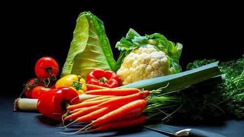 Diverse soorten groente