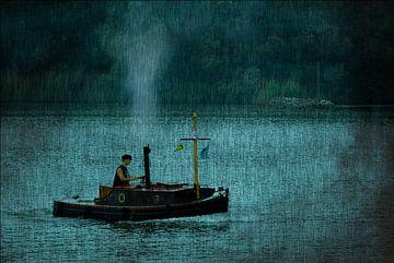 Stoombootje van Tejo Coen