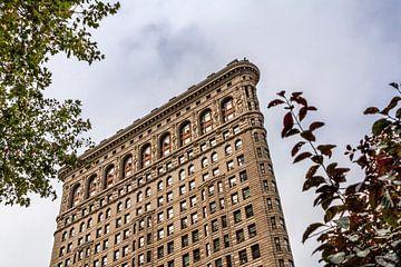 Flachstahlgebäude NYC von Natascha Velzel