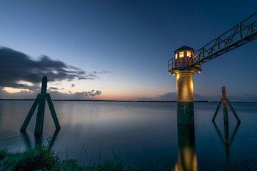 Le magnifique phare d'Oostmahorn sur Patrick Verhoef