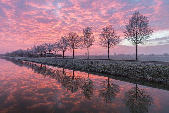 Een perfecte zonsondergang aan het water #2