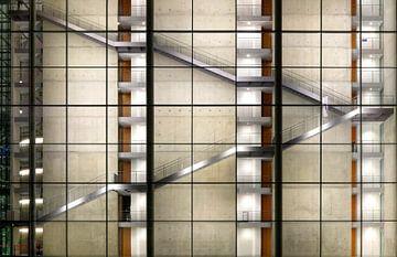Modernes Treppenhaus von Sabine Wagner