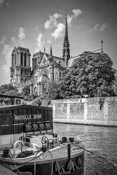 PARIS Kathedrale Notre-Dame | Monochrom sur Melanie Viola