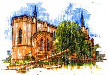 Kirche in Böhmen von Johnny Flash