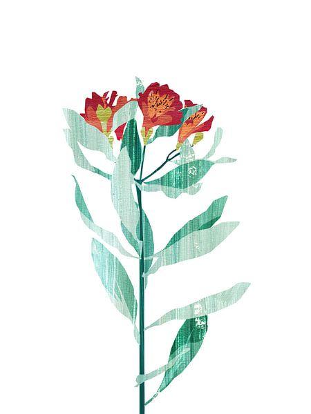 Flower Power #1 van Goed Blauw