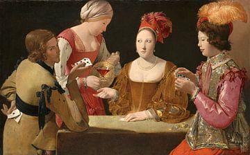 Der Betrug mit dem Kreuz-Ass, Georges de La Tour