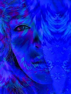 Midnight Woman von Mad Dog Art