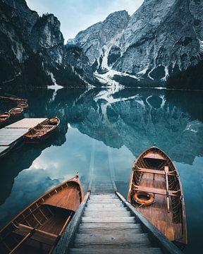 Lago Di Braies van Frederik Opdeweegh