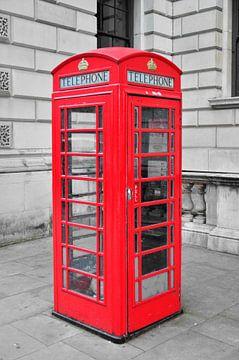 Telefooncel Londen van Jaco Verheul
