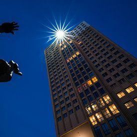 De Verwoeste Stad van Ossip Zadkine op Plein 1940, Rotterdam van Martijn Smeets