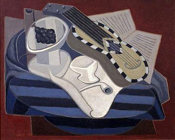 Juan Gris, Gitarre mit Intarsien - 1925 von Atelier Liesjes