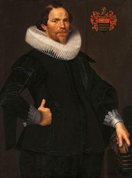 Portret van Pieter van Son, Nicolaes Eliasz. Pickenoy - ca. 1622