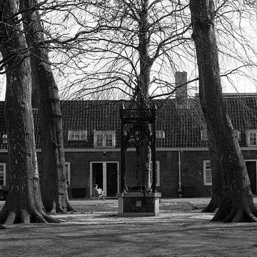 Dordrecht Arend Maartenshof van Dordrecht van Vroeger