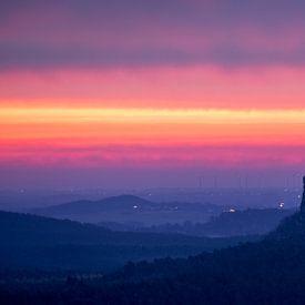Sonnenaufgang - Burg Regenstein von Oliver Henze