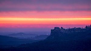 Sonnenaufgang - Burg Regenstein van